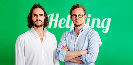 Helpling Founders Benedikt Franke and Philip Huffmann