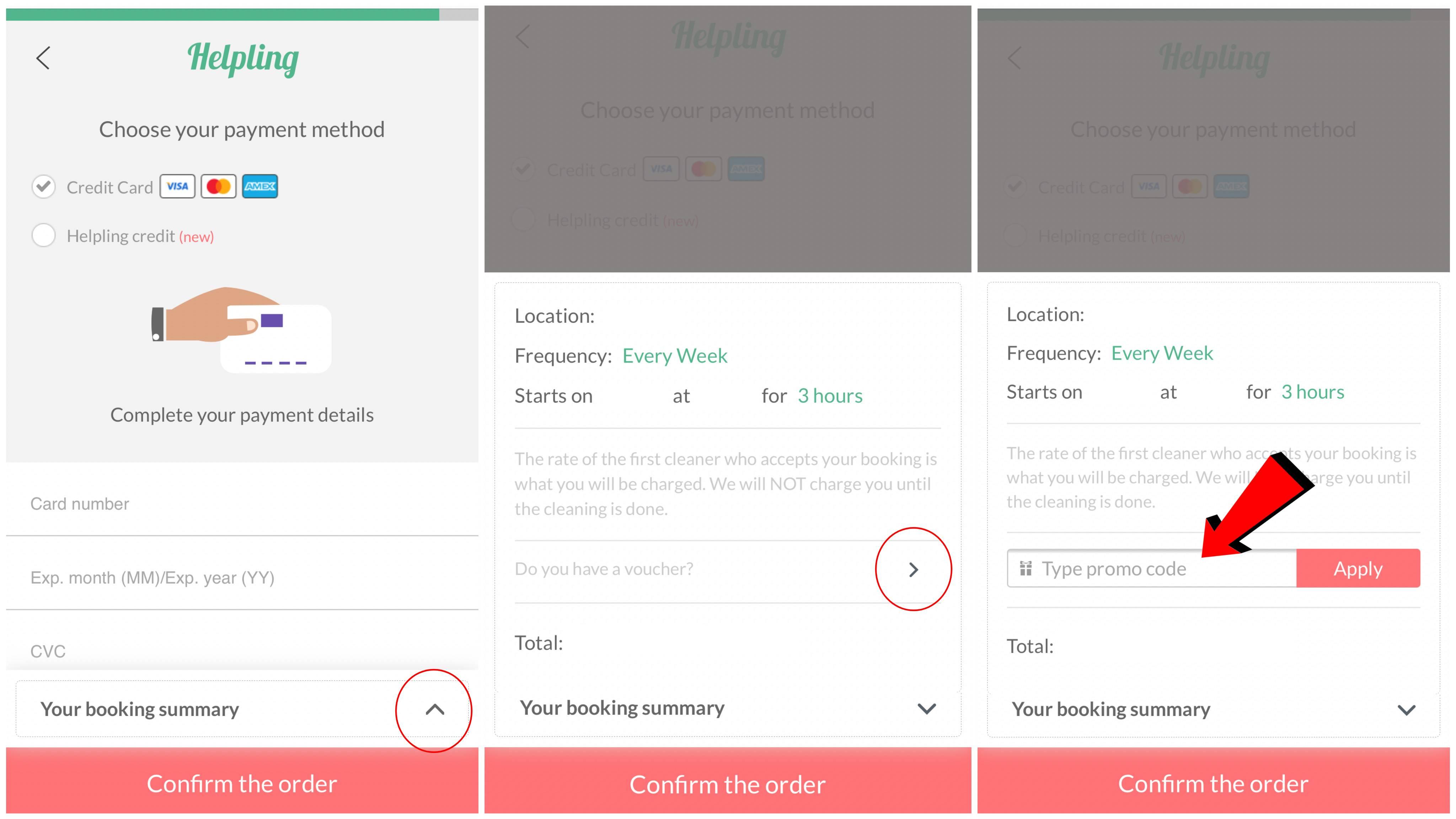 referral program - mobile screenshot