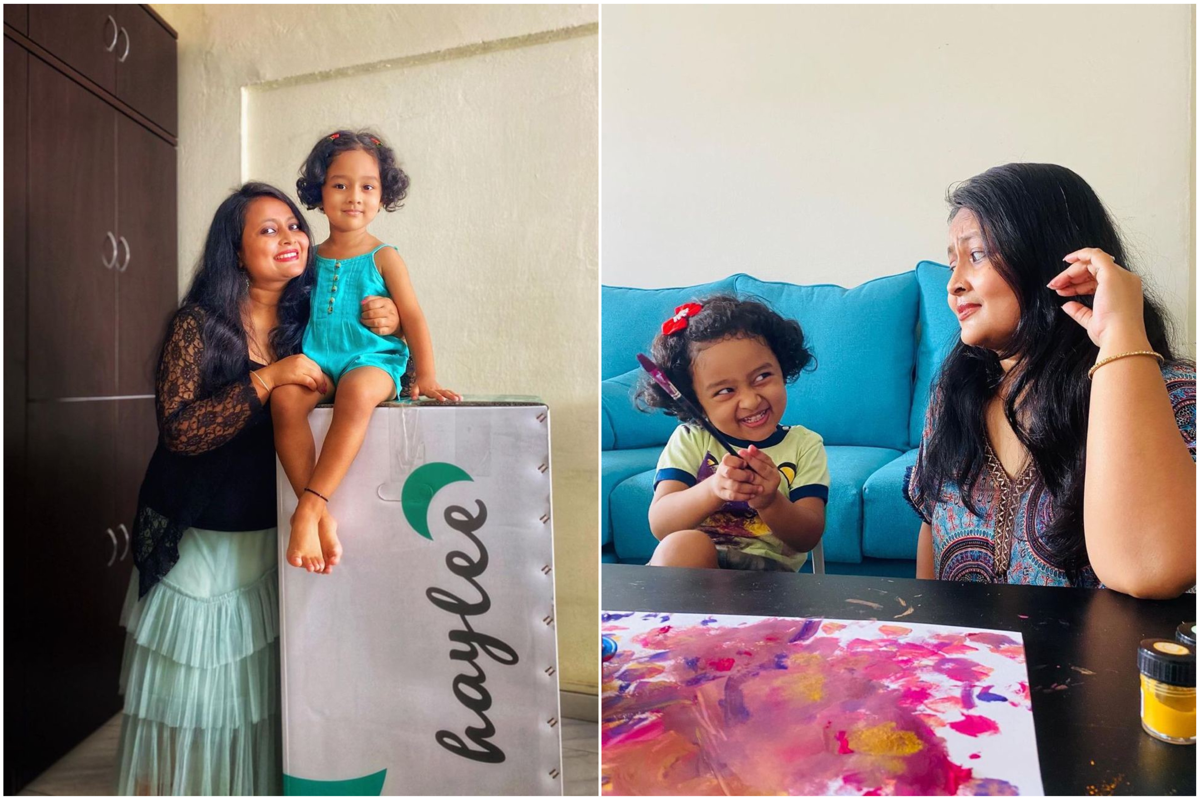 Mother's Day 2021 - Namita and Samaira