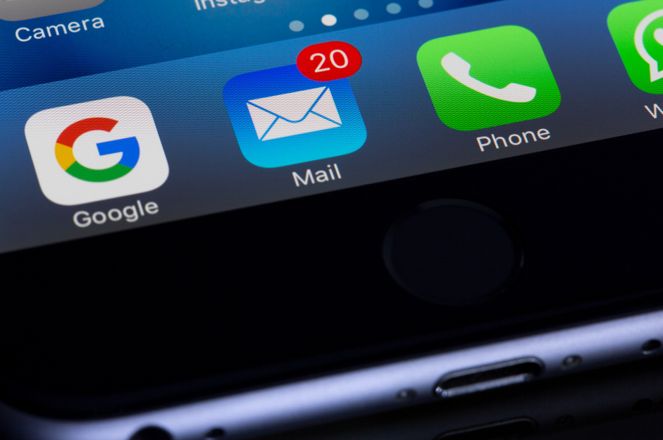 mobile mail app