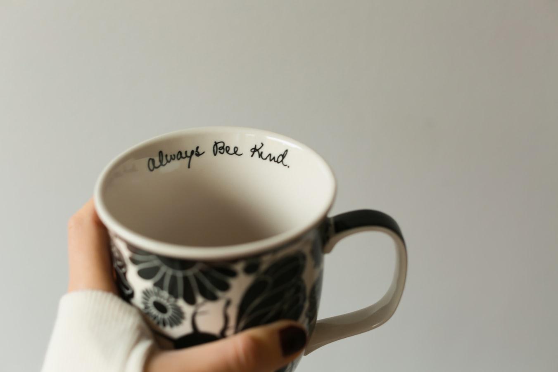 mug with always be kind