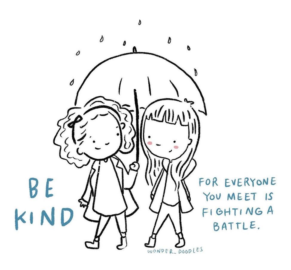 drawing be kind to others
